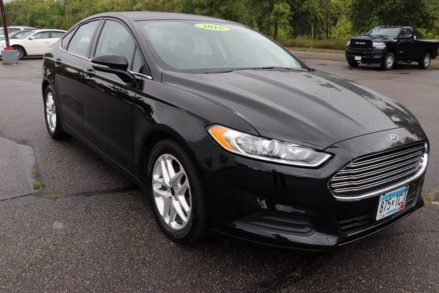 Used 2016 Ford Fusion SE with VIN 1FA6P0H75G5115459 for sale in Virginia, Minnesota