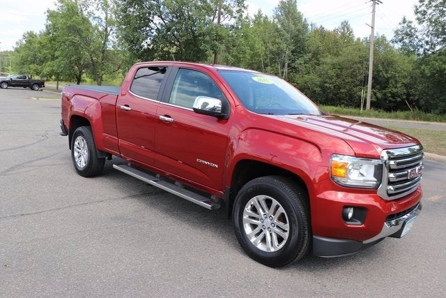 Used 2015 GMC Canyon SLT with VIN 1GTG6CE35F1124771 for sale in Virginia, Minnesota