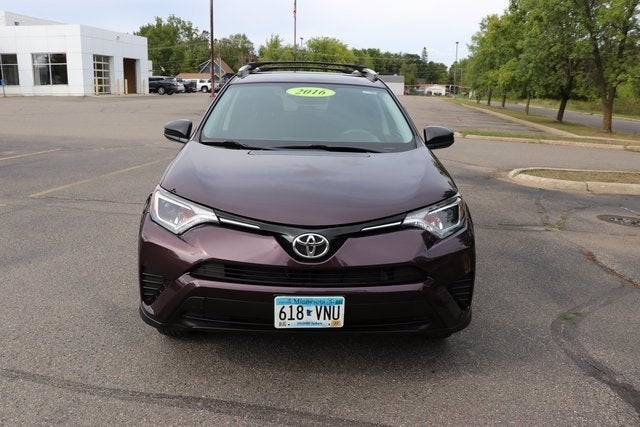 Used 2016 Toyota RAV4 LE with VIN 2T3BFREV8GW522591 for sale in Virginia, Minnesota