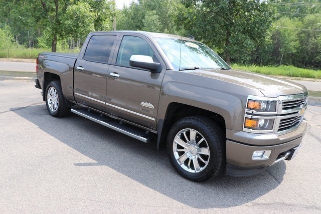 Used 2014 Chevrolet Silverado 1500 High Country with VIN 3GCUKTEC8EG528842 for sale in Virginia, Minnesota