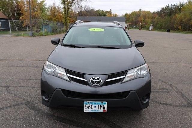 Used 2015 Toyota RAV4 LE with VIN JTMBFREV3FJ032430 for sale in Virginia, Minnesota